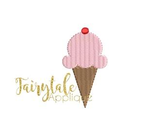 Mini ice cream cone | Etsy