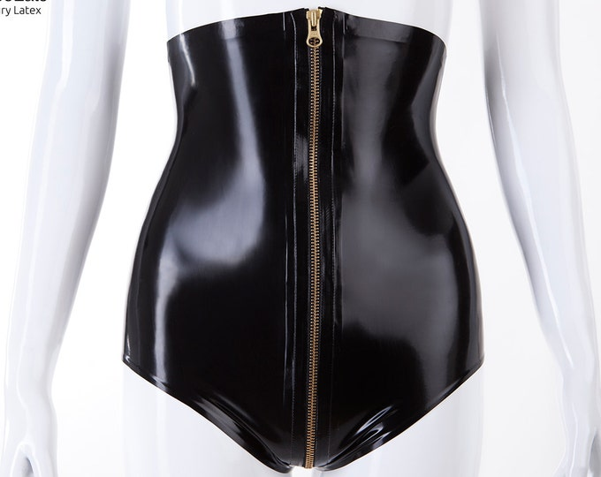 High Waist Knickers With Full Zip