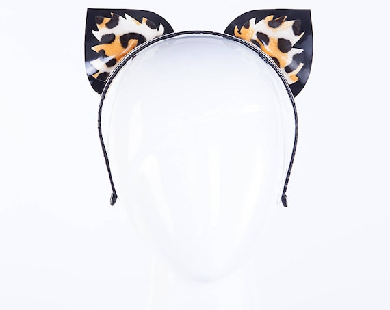 Latex Leopard Ears