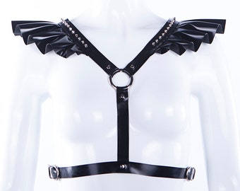 Gabrielle Latex Harness