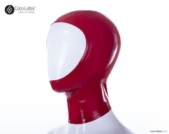 Open Face Latex Hood