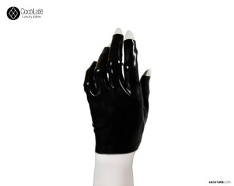 Short Tip-less Latex Gloves - Various Colors