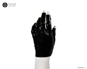 Short Tip-less Latex Gloves