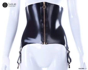 High Waist Suspender Garter Belt