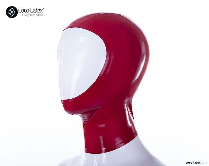 Open Face Latex Hood