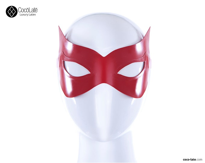 Red Witch Latex Mask