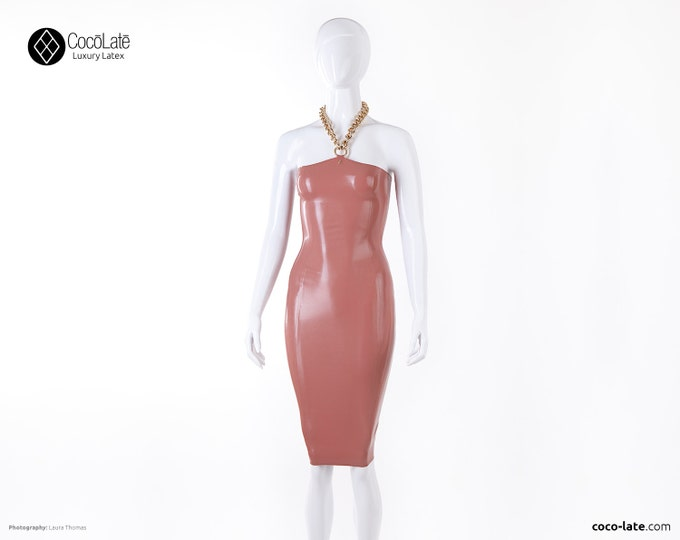 Edith Pencil Dress With Chain