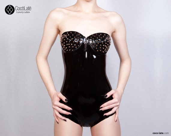 Maia Latex Body With Spikes