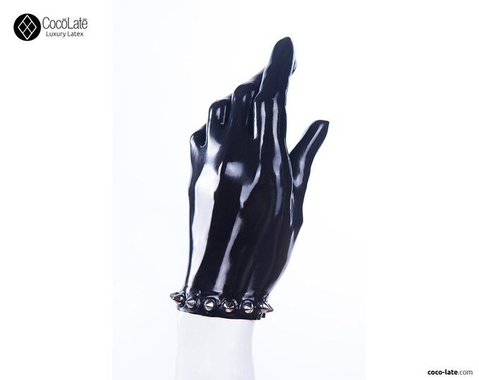 Latex Gloves W/ Spikes