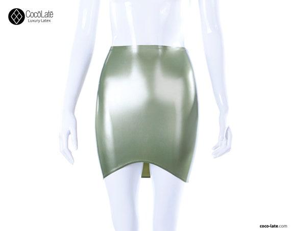 Latex Mini skirt