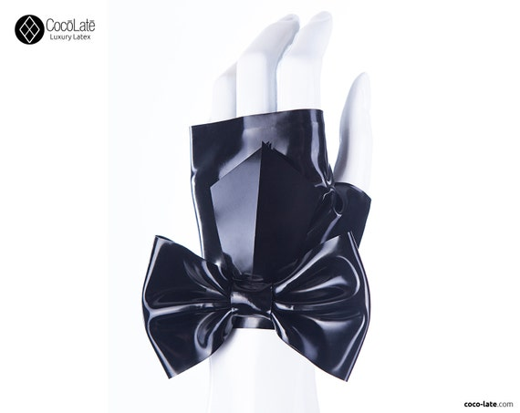 Fingerless Wrist Gloves W/ Big Bow