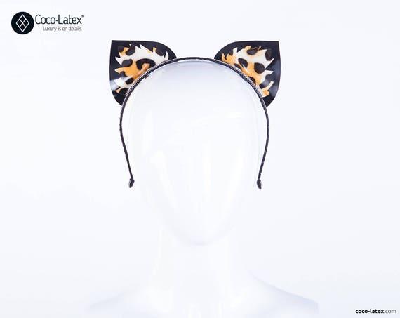Latex Leopard Ears