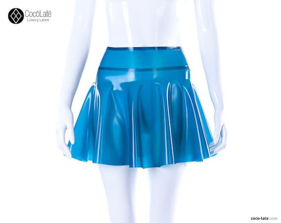 Latex Skater Skirt