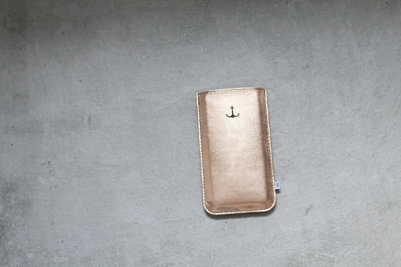 ElektroPulli for your iphone 6-8 leather-Copper image 0