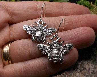 Metal Beads Pewter Bee Spacer Beads 24 Metal Pewter Beads JY25 9MM Tibet Copper Pewter Bumblebee Bee Beads Bee Beads