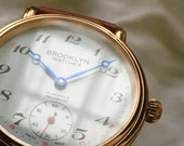 Brooklyn Watches by David Sokosh - Since 2009. Gold Slope Model.