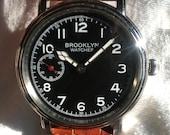 Brooklyn Watches by David Sokosh - Since 2009. Williamsburgh 9 Model.