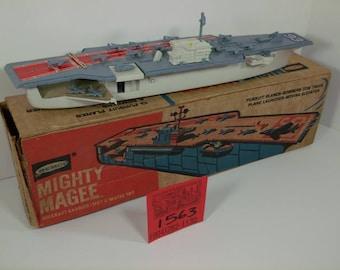 1960's Remco Mighty Magee Battleship w/ Box