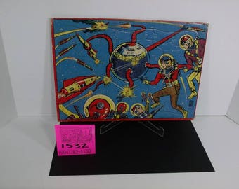 1940's Buck Rogers Frame Tray Puzzle