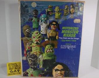 1970's Topper Toys Motorized Monster Maker -Ogre