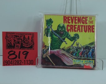 1960's Castle Films #1037 Revenge of the Creature-Super 8 Movie