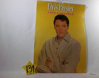 1982 Elvis Presley Calendar