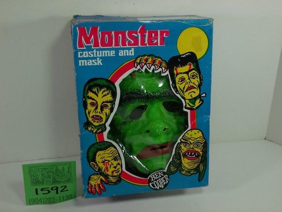 1970's Ben Cooper Frankenstein Costume w/ Mask