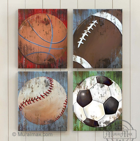 Sports Canvas Wall Art