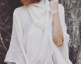 COCO Soft hemp oversized cardigan, adjustable Cardigan, poncho, oversized top, beachwear.