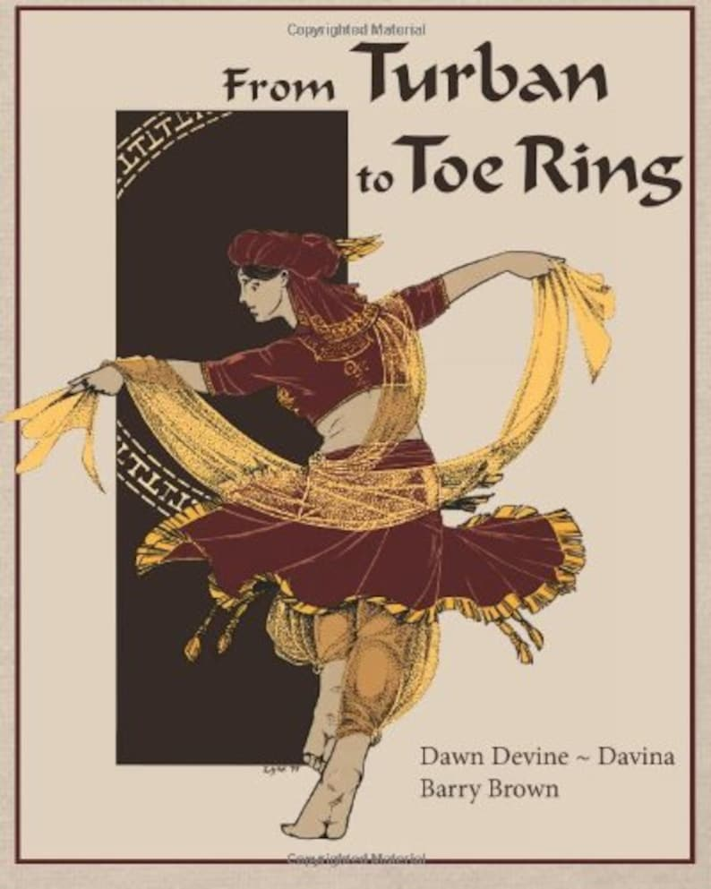 From Turban to Toe Ring DIY belly dance costuming book by image 0