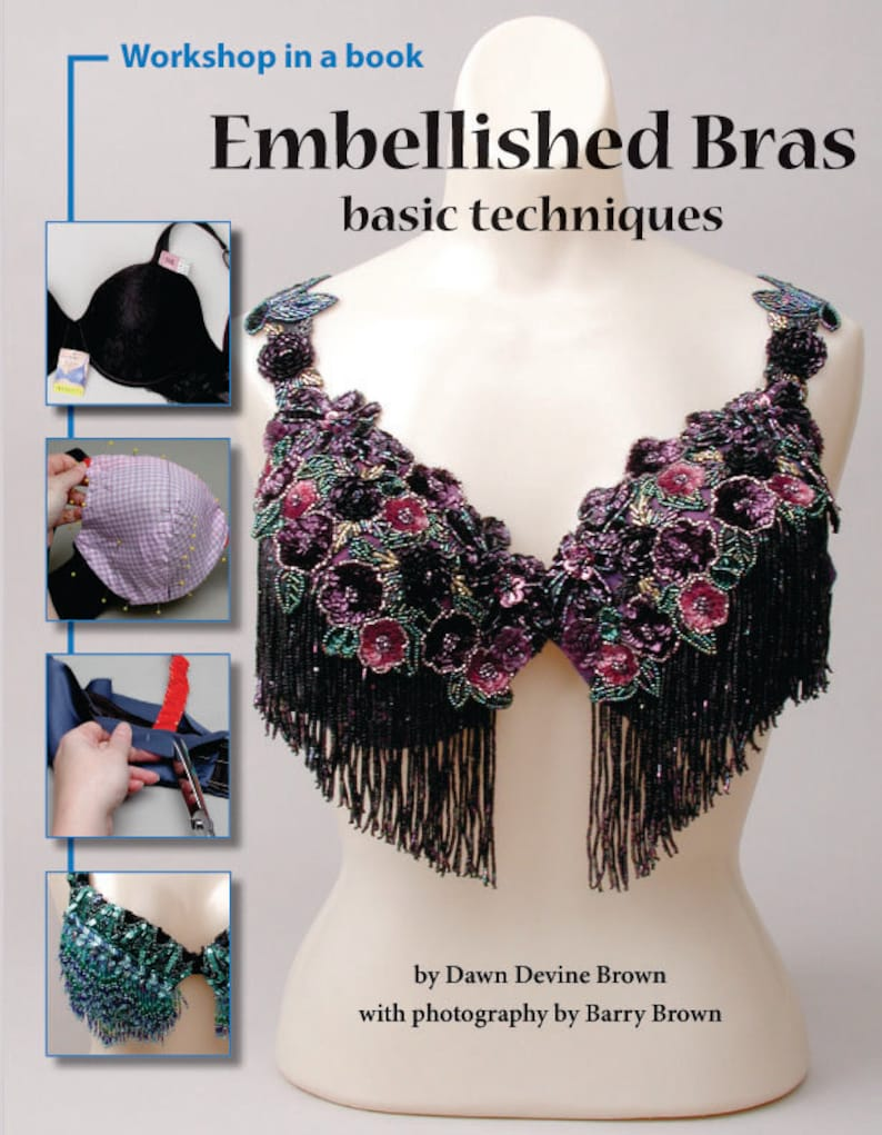 Embellished Bras DIY belly dance costume book by Dawn Devine image 0