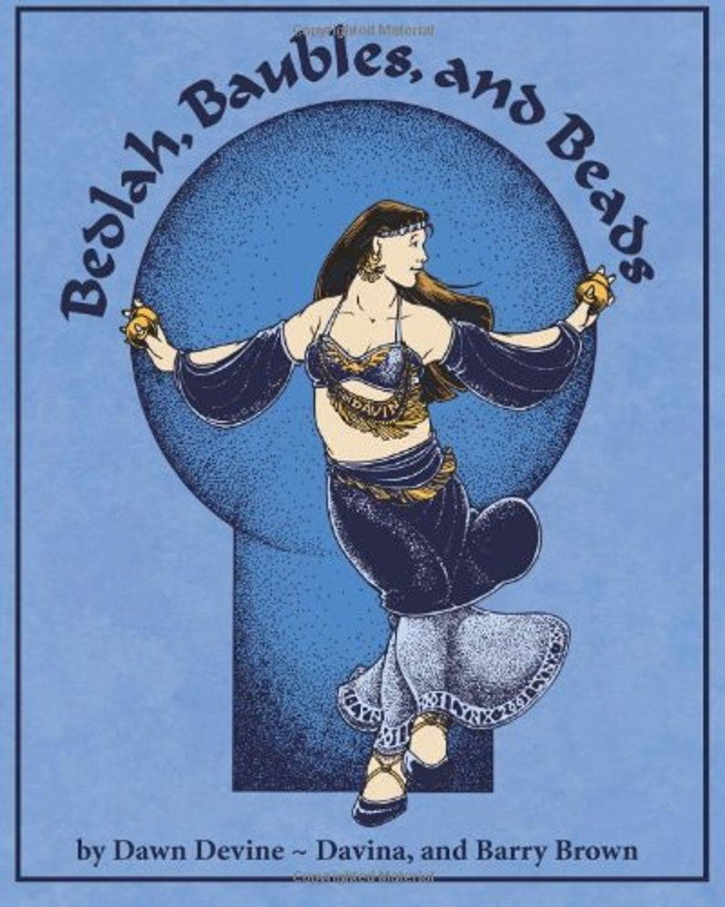 Bedlah Baubles and Beads DIY belly dance costuming book by image 0