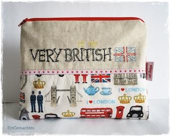 Cosmetic Bag * Very British *