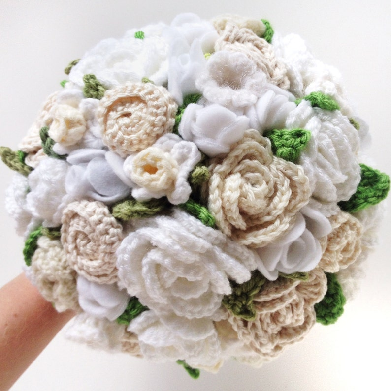 Bouquet Sposa Uncinetto.Ricordo All Uncinetto Bouquet Sposa Matrimonio Bianco Bouquet Eco Elopement Bouquet Alternativi