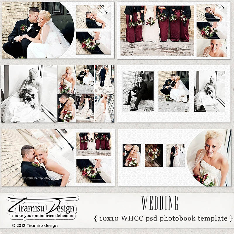 Wedding Photo Book Template