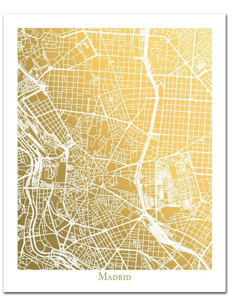 Madrid Spain Map Print, Gold Foil Map of Madrid, Foil Print, Foil Map on san juan puerto rico map, jerez spain map, catalonia spain map, ibiza spain map, world map, andalucia spain map, barcelona map, tokyo japan map, zurich switzerland map, london england map, beijing china map, sydney australia map, rio de janeiro brazil map, seville spain map, france map, moscow spain map, moscow russia map, granada spain map, oslo norway map, stockholm sweden map,