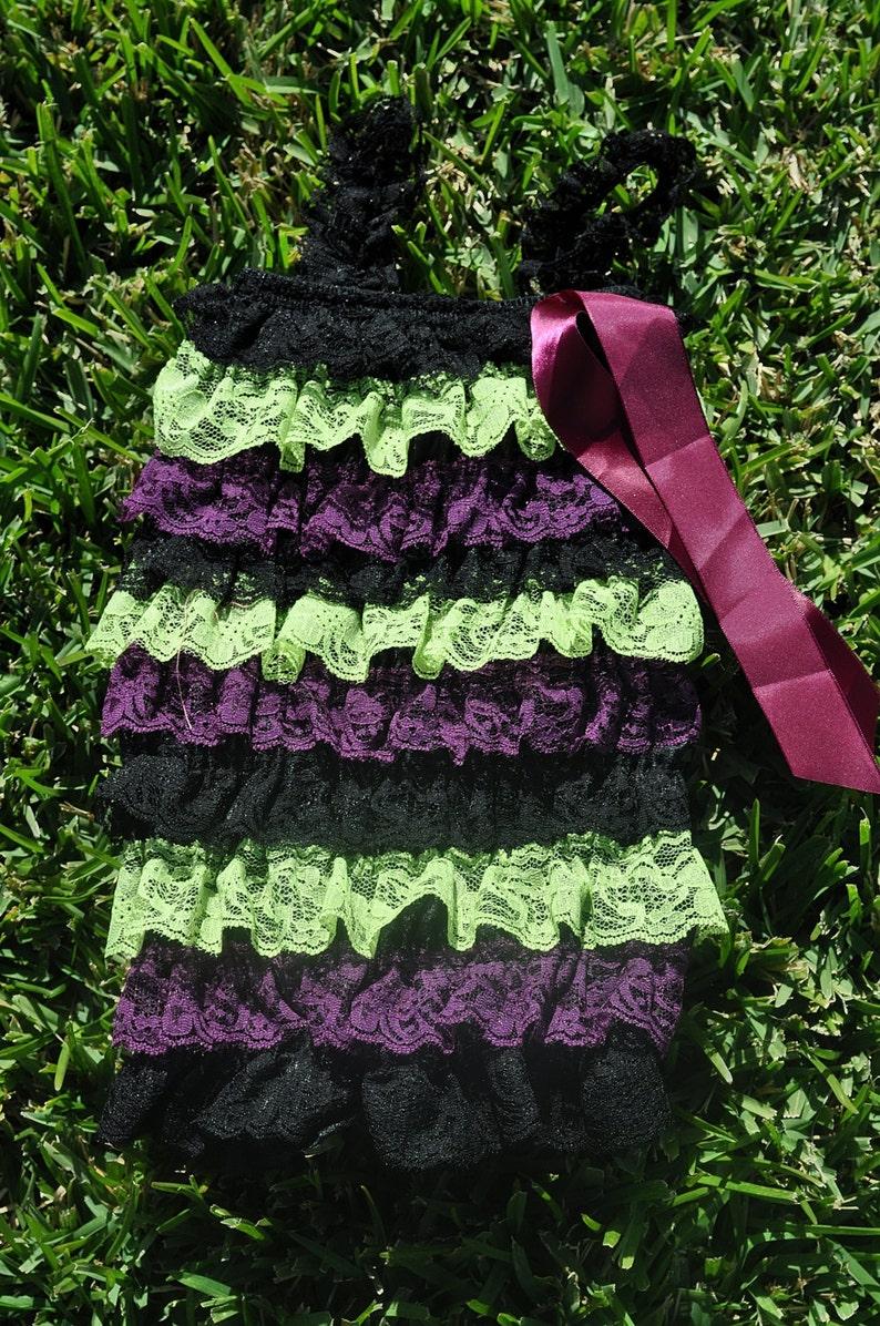 Medium Licorce Lace Romper