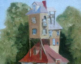 Chez Weasley - Fine Art Print