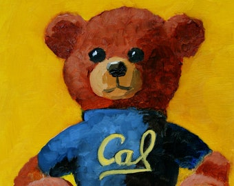 Custom Mascot Painting - Great Graduation Gift