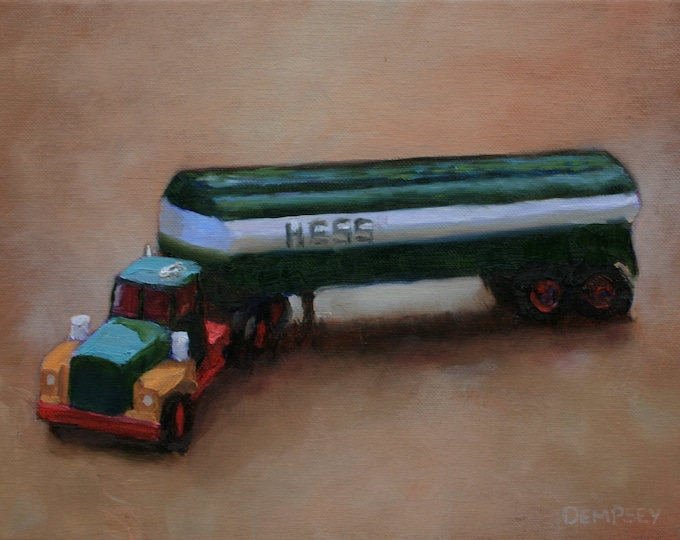 Featured listing image: Hess Truck - Fine Art Print