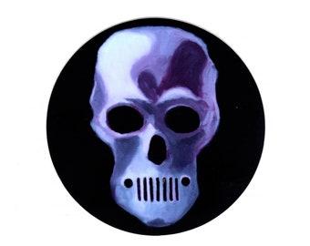 Jeep Skull Sticker - 5 Bucks - Free Shipping