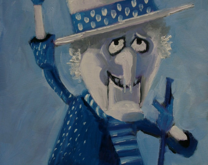 Featured listing image: Snow Miser - Fine Art Print