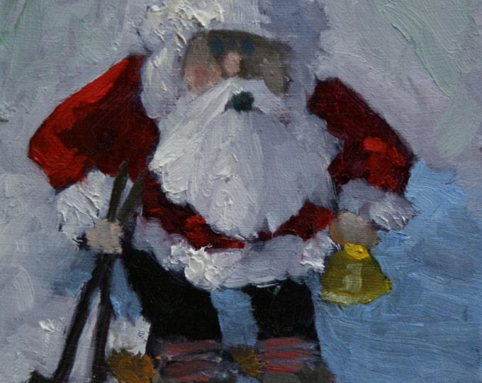 Featured listing image: Weihnachtsmann - Fine Art Print