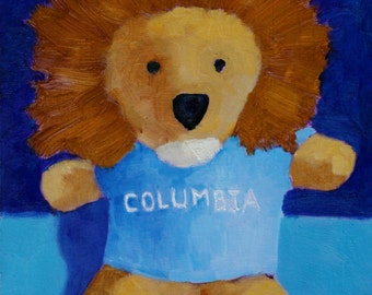 Columbia Lion - Fine Art Print