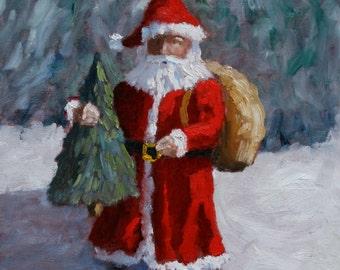 Santa Claus - Fine Art Print