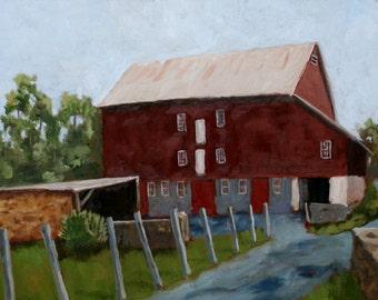 Kuerner Farm - Framed