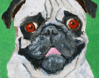 Pug - Fine Art Print