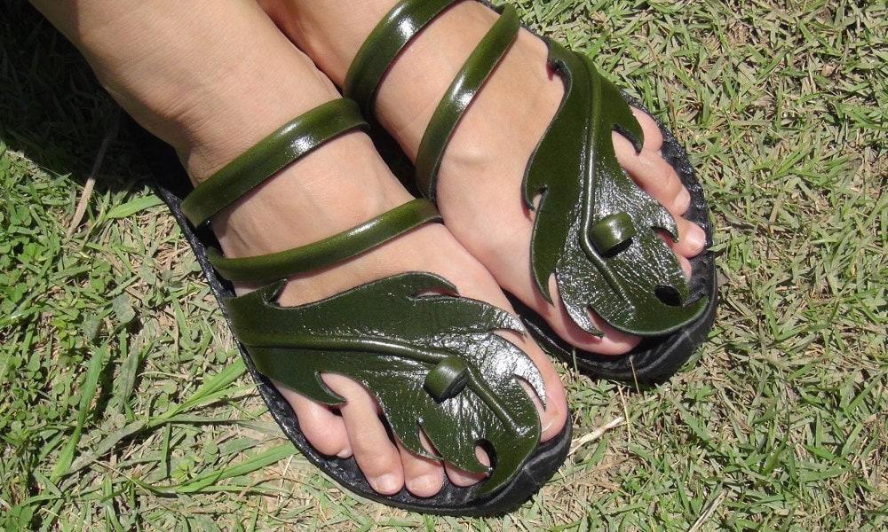 Men Leaves OrderOriginal Sandals To Women SandalsMade kookaburra Leather Design CraftHandmade nyvwNPm8O0