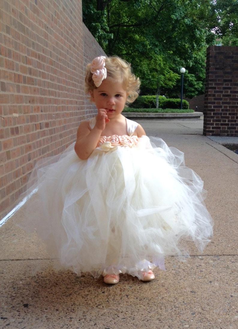 474e5af01a16f Ivory Flower Girl Dresses For Toddlers - raveitsafe