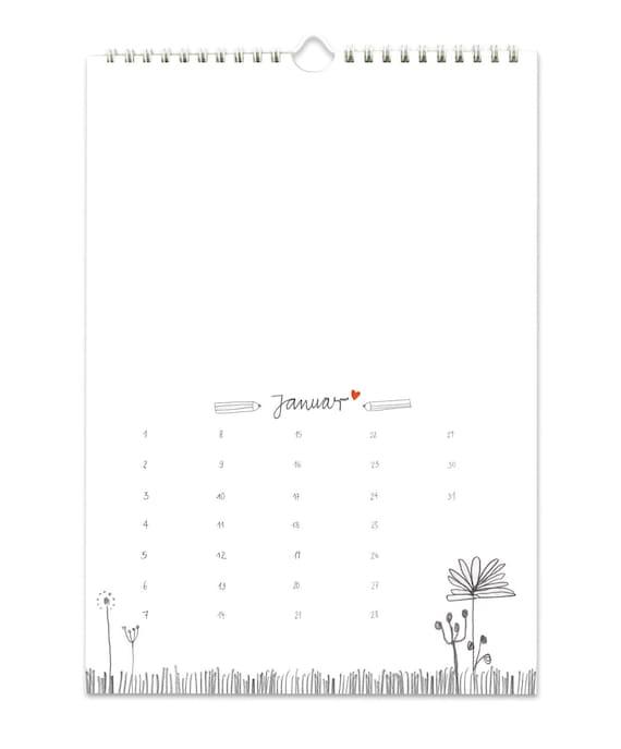 Calendrier Sans Annee.Artisanat Agenda A4 Sans Annee Calendrier Photo Calendrier Creatif Calandar Blanc Avec Des Fleurs
